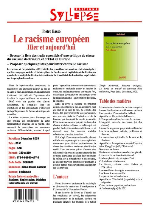 la_racisme_europpeen