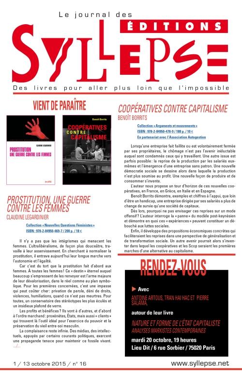 journal n°16, 13 octobre