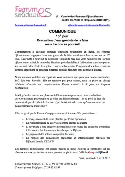CP 15éme jour de la greve de la faim pdf
