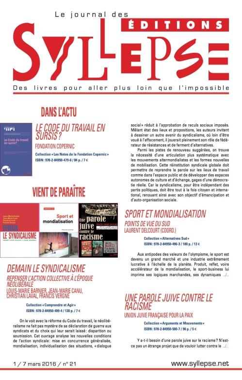 journal n°21 A