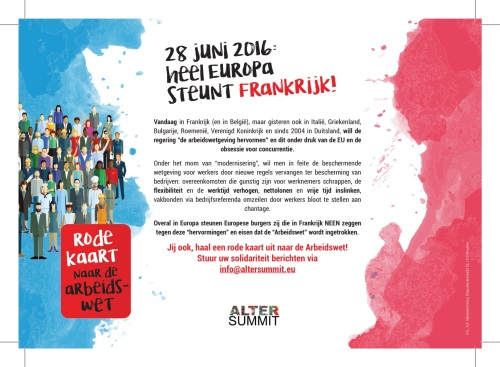 Flyer Loi Travail NL