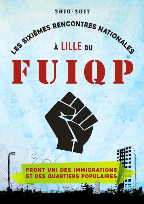 Les Sixièmes Rencontres Nationales des Luttes des Immigrations et des Quartiers Populaires bleu (1)