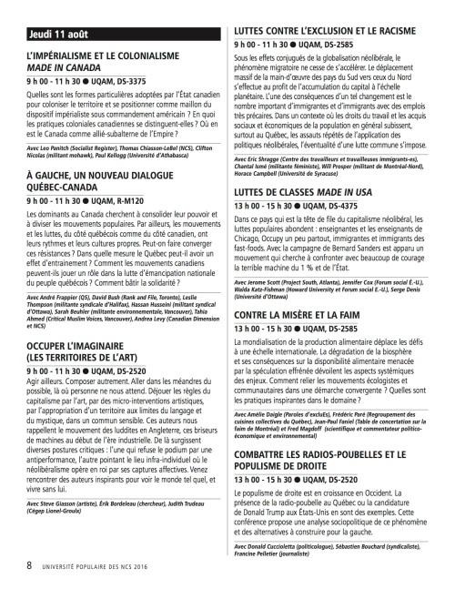 Programme_UPOP 8