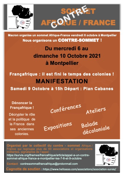 flyer Contre sommet Afrique France A