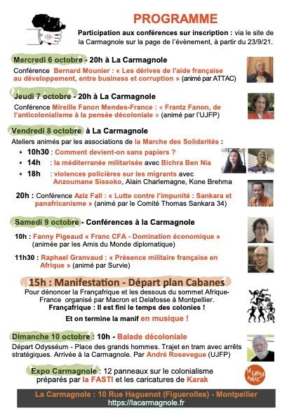 flyer Contre sommet Afrique France B
